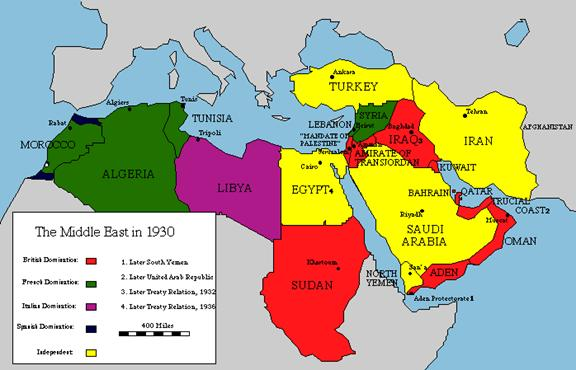 Us Foreign Policy In The Middle East Post Intervention Maps