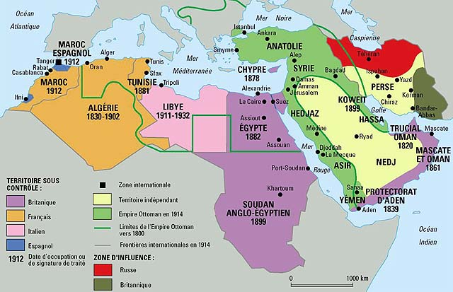 US Foreign Policy In The Middle East PreGreat War Maps - Map us foreign policy